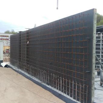 Monolitinių sienų įrengimas