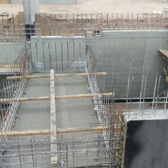 Monolitinių perdangų ir sienų įrengimas