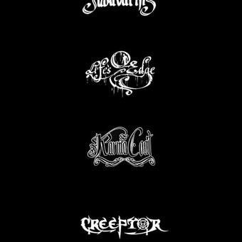 Alternatyvių muzikos atlikėjų logotipo sukūrimas