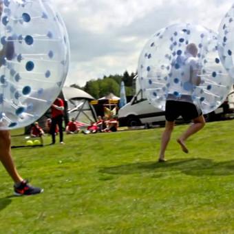 Burbulų futbolas komandoms