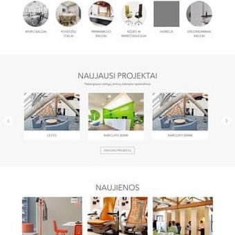 Sukurtas puslapis www.ergolain.lt