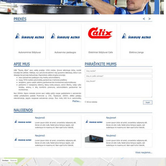 Sukurtas puslapis www.siauliualtas.lt
