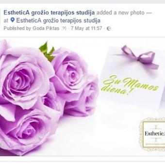 Esthetica grožio terapijos studija