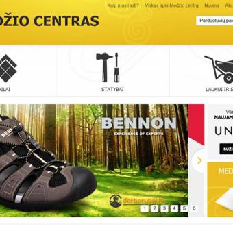 Workaholic dream | darborubai.lt BNN Hudson  sandalų baneris Medžio centro tinklalapiui