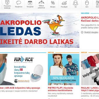 Workaholic dream   darborubai.lt AIR ACE kvėpavimo takų apsaugos baneris Akropolio naujienų tinklalapiui