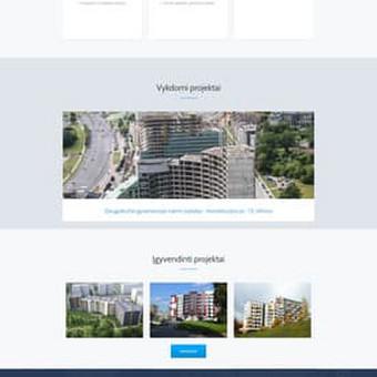 Statybos įmonės svetainė. http://statvilsta.lt/