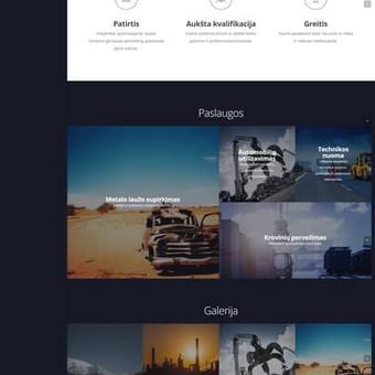 Metalo supirkimo svetainė. http://metlana.lt/
