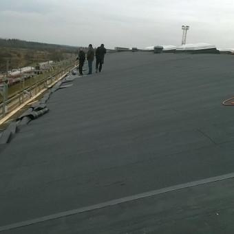 Bituminių stogų įrengimas, šiltinimas, renovacija