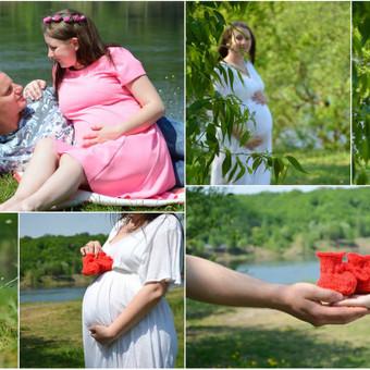 Nėščiosios fotosesija