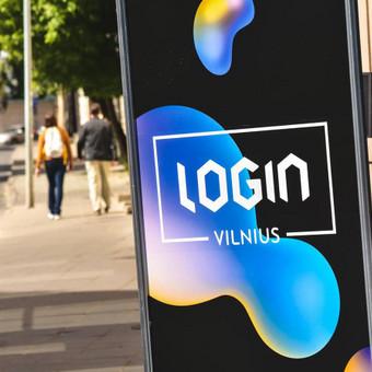 Maketavimo darbai Login 2017 konferencijai: stendai, plakatai, vėliavos ir kt.
