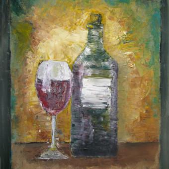 Vynas (aliejiniai dažai ant drobės)