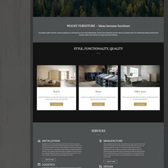 Woostfurniture.com - biuro, viešbučių, parduotuvių ir viešųjų erdvių baldų gamyba.