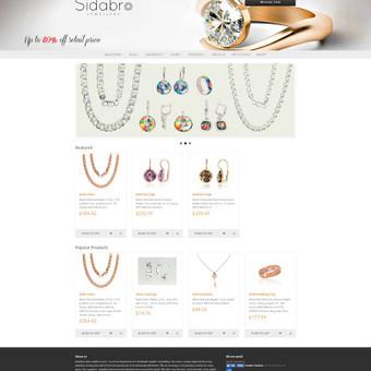 Sidabro.co.uk - Juvelyrikos el. parduotuvė