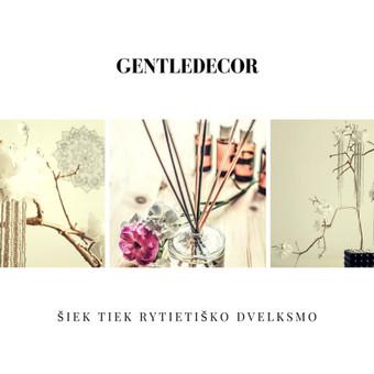 Subtilus interjero ir šventinis dekoras / Sandra Švelnytė / Darbų pavyzdys ID 280591