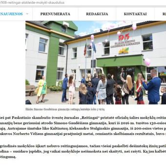 Žurnalistė / Morta Mikutytė / Darbų pavyzdys ID 280787