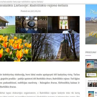 Žurnalistė / Morta Mikutytė / Darbų pavyzdys ID 280795