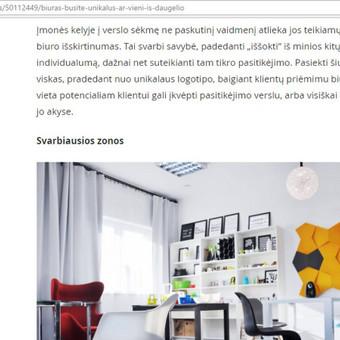 Žurnalistė / Morta Mikutytė / Darbų pavyzdys ID 280803