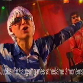 Aranžuotė,suvedimas,masteringas Zigmundas Klimaševskis Įrasyta studijoj ''DoMinanta''(pop)