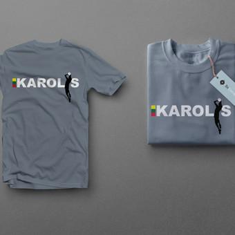 Logotipas marškinėliams.