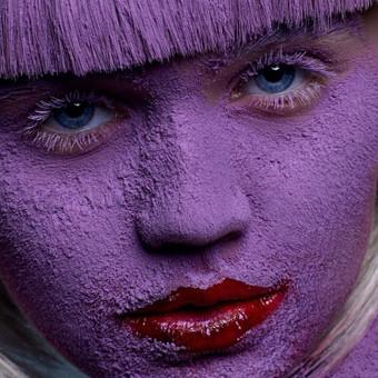 Purple beauty fotosesijos užkulisiai (Video nuo žemės)