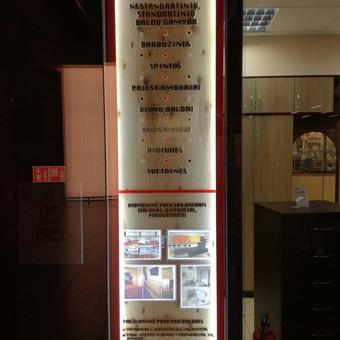 Reklamos gamyba Šiauliuose / UAB Poligrafas / Darbų pavyzdys ID 282081