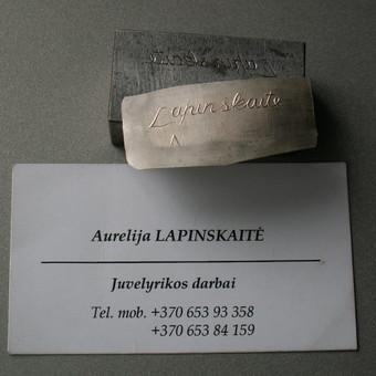 Juvelyras / Česlovas Kavaliauskas / Darbų pavyzdys ID 282701