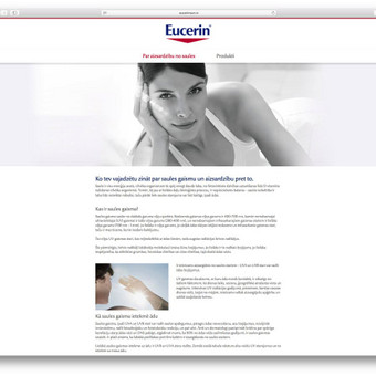 www.eucerinsun.lv ir www.eucerinsun.ee