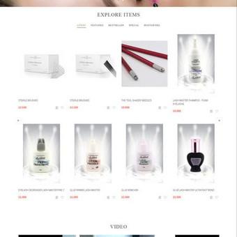 Internetinių svetainių | El-parduotuvių kūrimas Jūsų mieste / Jonas Urbonas / Darbų pavyzdys ID 284235
