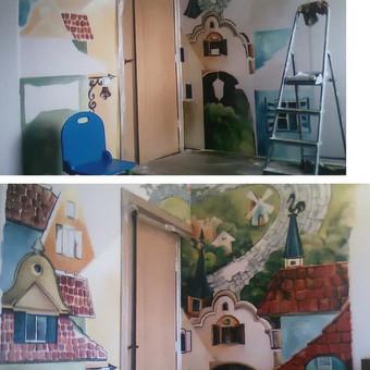 Dailininkė Klaipėdoje / DEKORnili LINA / Darbų pavyzdys ID 286037