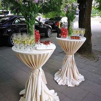 Įvairios paslaugos vestuvėms Vilniuje / PuikiMintis Šampano staliukas / Darbų pavyzdys ID 286235