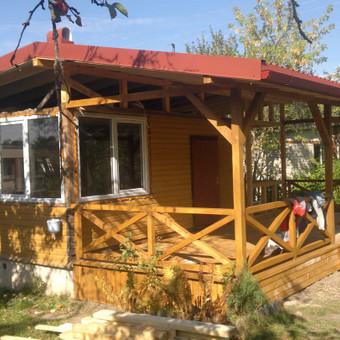 Karkasiniu namu statyba remontas  renovavimas Stogu dengimas / ovidijus / Darbų pavyzdys ID 288031