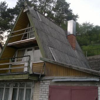 Karkasiniu namu statyba remontas  renovavimas Stogu dengimas / ovidijus / Darbų pavyzdys ID 288037