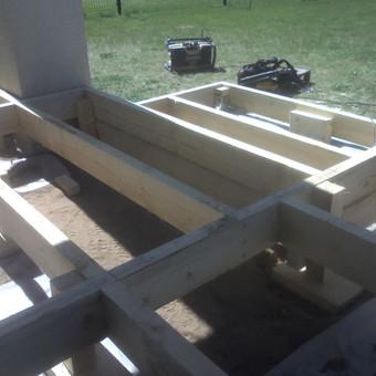 Karkasiniu namu statyba remontas  renovavimas Stogu dengimas / ovidijus / Darbų pavyzdys ID 288051