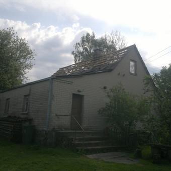 Karkasiniu namu statyba remontas  renovavimas Stogu dengimas / ovidijus / Darbų pavyzdys ID 288055