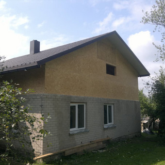 Karkasiniu namu statyba remontas  renovavimas Stogu dengimas / ovidijus / Darbų pavyzdys ID 288059