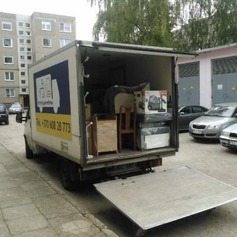 Perkraustymo paslaugos / Krovinių Pervežimas / Darbų pavyzdys ID 288065