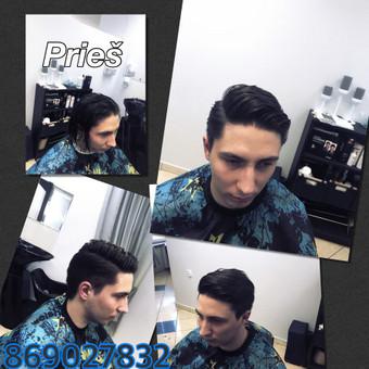 Vyriški kirpimai,barzdų modeliavimas,skutimas. / Loreta / Darbų pavyzdys ID 288069