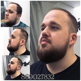 Vyriški kirpimai,barzdų modeliavimas,skutimas. / Loreta / Darbų pavyzdys ID 288129