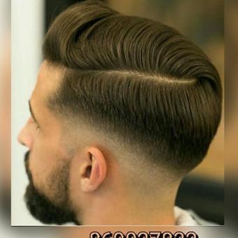 Vyriški kirpimai,barzdų modeliavimas,skutimas. / Loreta / Darbų pavyzdys ID 288209