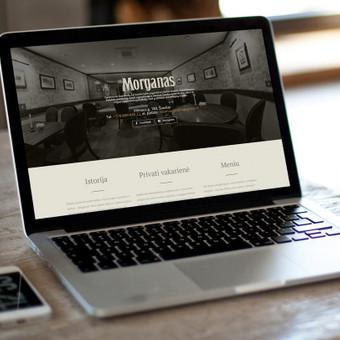 """""""Morganas"""" restorano reprezentacinė svetainė. http://morganas.lt/"""