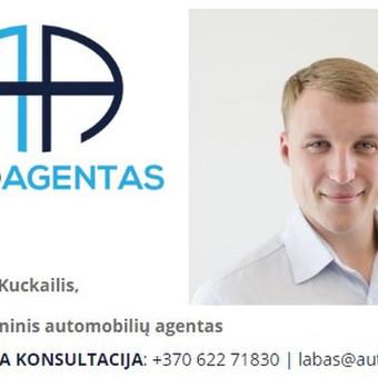 Jūsų asmeninis automobilio agentas / Marius Kuckailis / Darbų pavyzdys ID 289507