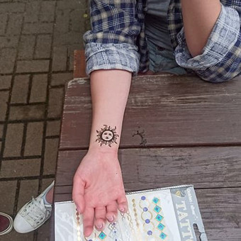 laikinos henna (chna) tatuiruotes / Ieva Jaru / Darbų pavyzdys ID 289731