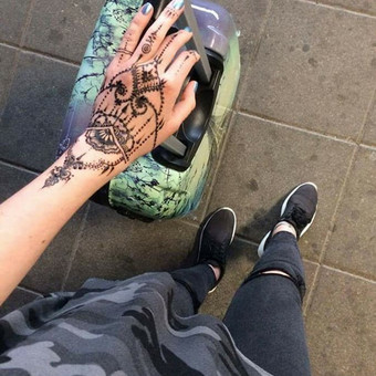 laikinos henna (chna) tatuiruotes / Ieva Jaru / Darbų pavyzdys ID 289733