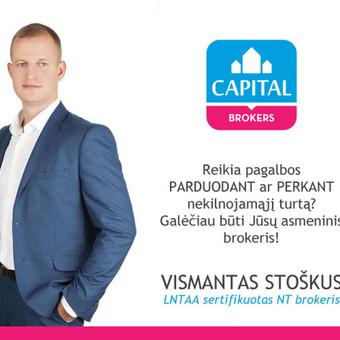 Sertifikuotas nekilnojamo turto brokeris / Vismantas Stoškus / Darbų pavyzdys ID 290181