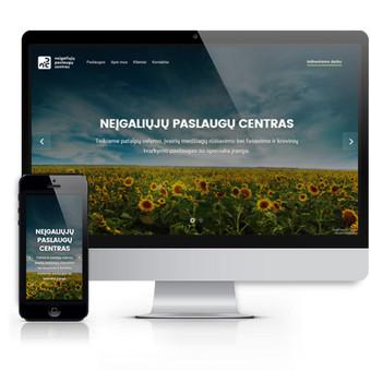 Interneto svetainių kūrimas Kaune / Žilvinas Valančiauskas / Darbų pavyzdys ID 290325