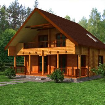 Medinių statinių projektai / Medžio Formos / Darbų pavyzdys ID 290595