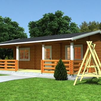 Medinių statinių projektai / Medžio Formos / Darbų pavyzdys ID 290601