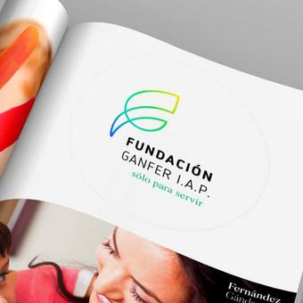 Pelno nesiekiantis fondas. Logotipas http://fundacionganfer.org