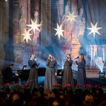 The BACKS - Kalėdinis koncertas Šv. Kotrynos bažnyčioje.