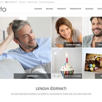 Interneto svetainių ir parduotuvių kūrėjas / Domas Tartilas / Darbų pavyzdys ID 296951